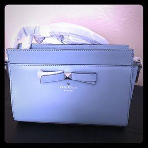 Kate spade light blue crossbody bag auper cute